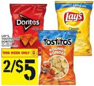 Lay's - Tostitos Or Doritos