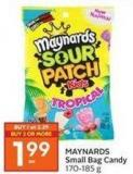 Maynards Small Bag Candy 170-185 g
