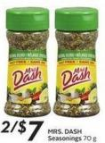 Mrs. Dash Seasonings 70 g