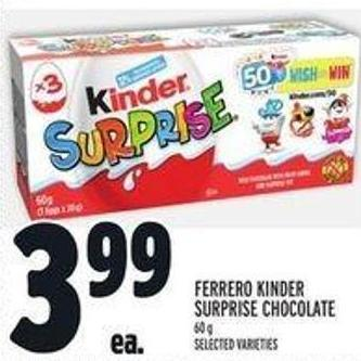Ferrero Kinder Surprise Chocolate