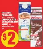 Neilson Trutaste - Chocolate or Strawberry Milk - 1 L