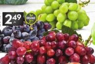 Extra Large Red - Green or Black Seedless Grapes or Red Globe Grapes