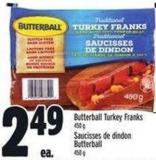 Butterball Turkey Franks | Saucisses De Dindon Butterball