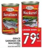 Grace Sardines Or Mackerel