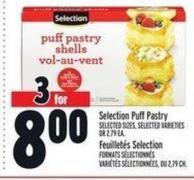 Selection Puff Pastry | Feuilletés Selection