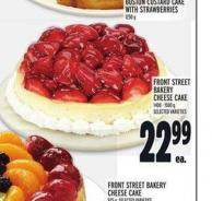 Front Street Bakery Cheese Cake