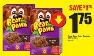 Dare Bear Paws Cookies 150 - 240 g