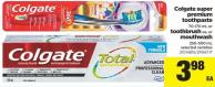 Premium Toothpaste - 70-170 mL Or Toothbrush Or Mouthwash - 250-500 mL