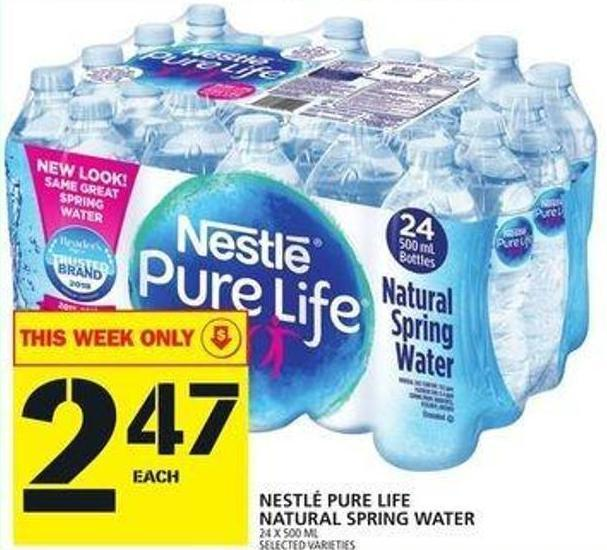 Nestlé Pure Spring Water