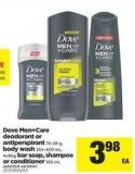Dove Men+care Deodorant Or Antiperspirant 76–85 G - Body Wash 354-400 Ml - 4x90g Bar Soap - Shampoo Or Conditioner 355 Ml