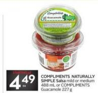 Compliments Naturally Simple Salsa