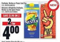 Fruitopia - Nestea Or Peace Iced Tea 1.75 L