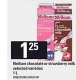 Neilson Chocolate Or Strawberry Milk - 1 L