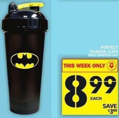 Perfect Shaker Cups