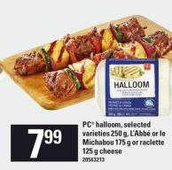 PC Halloom - 250 G L'abbé Or Le Michabou 175 G Or Raclette 125 G Cheese