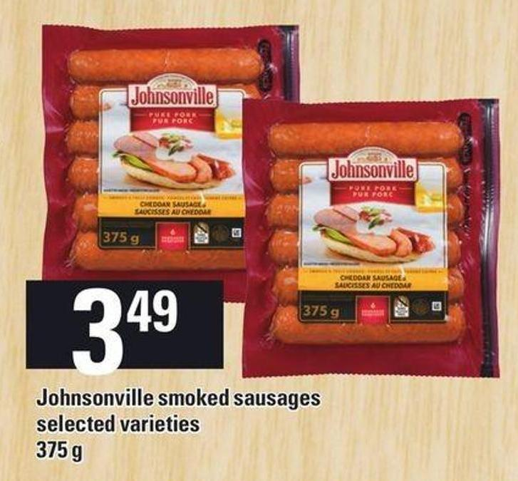 Johnsonville Smoked Sausages - 375 G