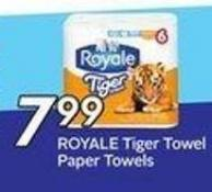 Royale Tiger Towel Paper Towels
