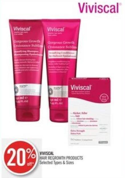 Viviscal Hair Regrowth Products