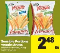 Sensible Portions Veggie Straws - 142 g