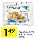 Compliments Marshmallows 250 g
