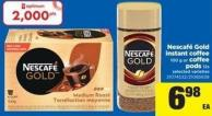 Nescafé Gold Instant Coffee - 100 G Or Coffee PODS - 12s