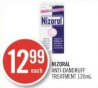 Nizoral Anti-dandruff Treatment 120ml