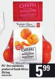 PC Orri Mandarins - 2lb Bag