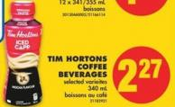 Tim Hortons Coffee Beverages - 340 mL