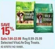 Selected Vitalife Dog Treats