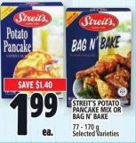 Streit's Potato Pancake Mix Or Bag N' Bake 77 - 170 g