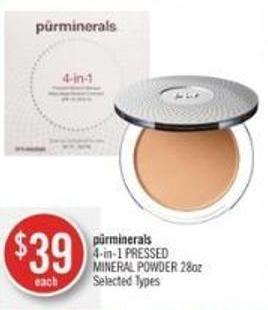 Pürminerals 4-in-1 Pressed Mineral Powder 28oz