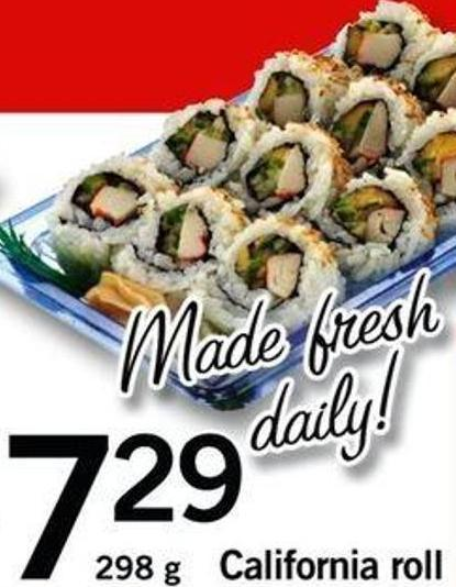 California Roll - 298 G