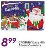 Cadbury Dairy Milk Advent Calendars