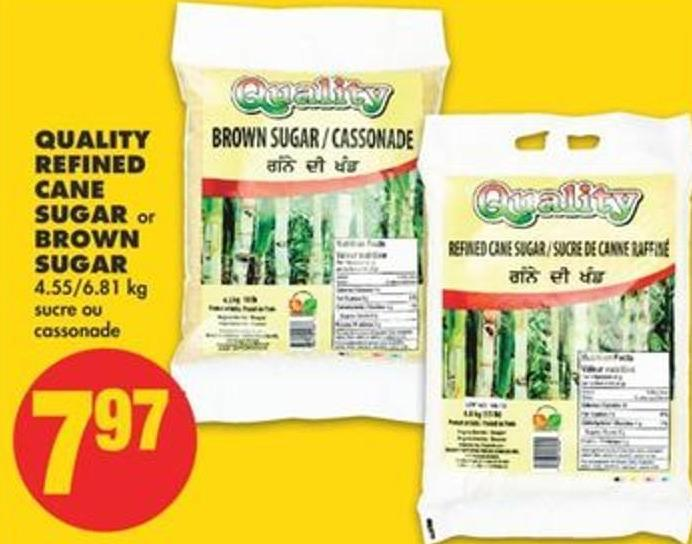 Quality Refined Cane Sugar or Brown Sugar