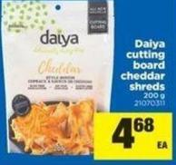 Daiya Cutting Board Cheddar Shreds - 200 G