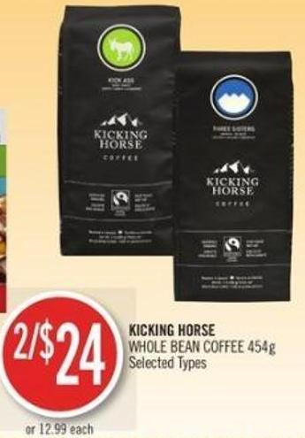 Kicking Horse Whole Bean Coffee