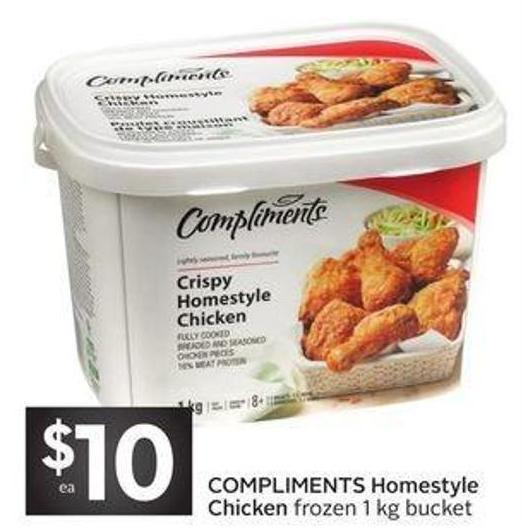 Compliments Homestyle Chicken