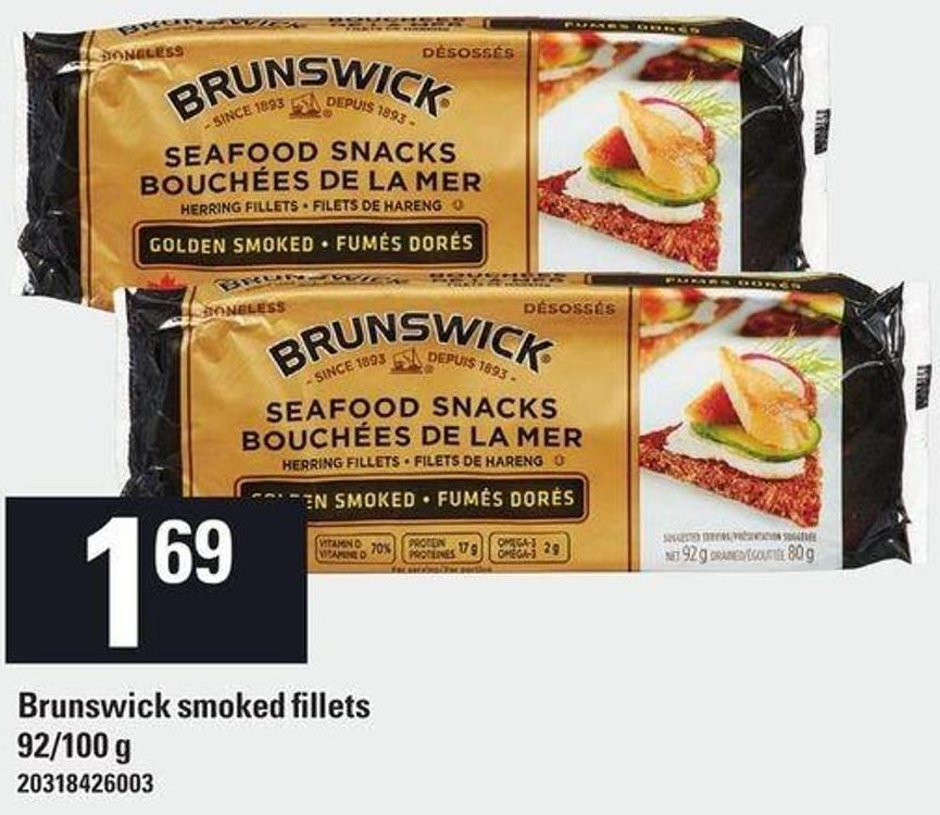 Brunswick Smoked Fillets - 92/100 g