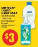 Softsoap Liquid Hand Soap - 236-828 mL