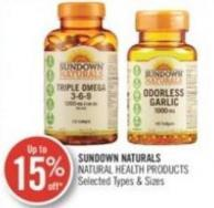 Sundown Naturals Natural Health Products