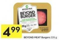 Beyond Meat Burgers 226 g
