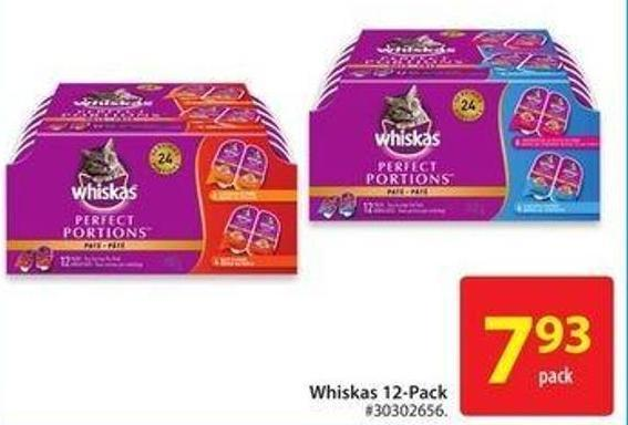Whiskas 12 Pack