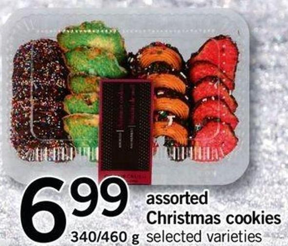 Assorted Christmas Cookies - 340/460 G