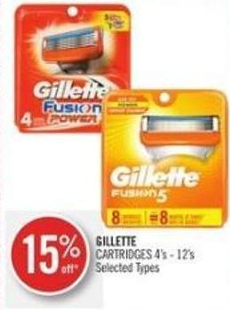 Gillette Cartridges