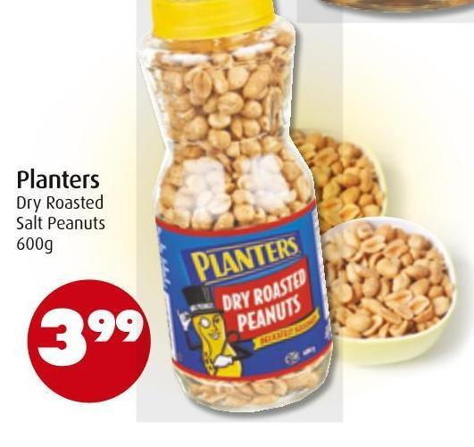 Planters Dry Roasted