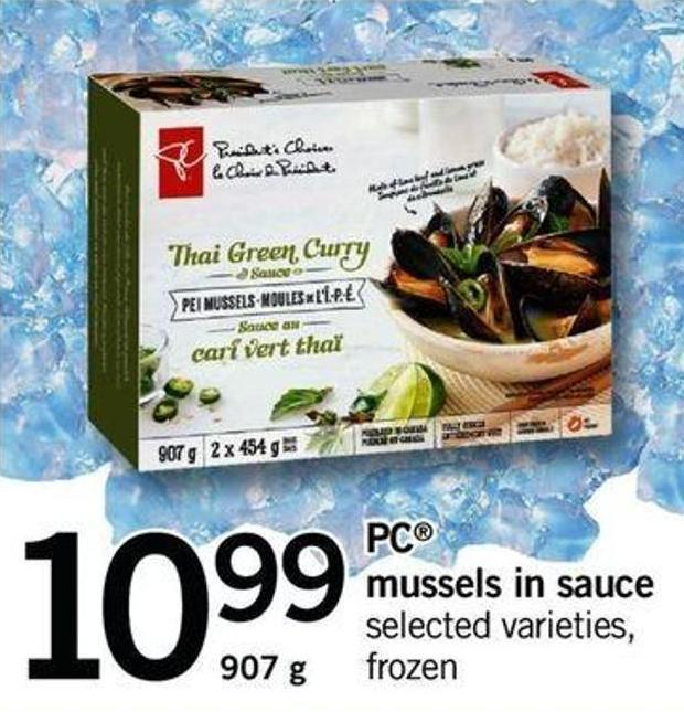 Mussels In Sauce - 907 G