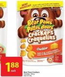 Bear Paws Crackers