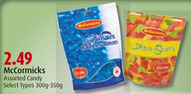 Mccormicks Assorted Candy