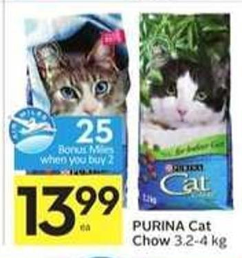 Purina Cat Chow - 25 Air Miles Bonus Miles