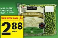 Mill Creek Farm Peas